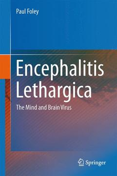 Cover of the book Encephalitis lethargica