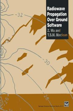 Cover of the book Radiowave propagation over ground software (3.5 disk included / Bound)