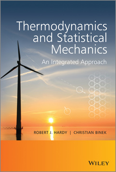 Cover of the book Thermodynamics and Statistical Mechanics