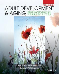 Couverture de l'ouvrage Adult Development and Aging