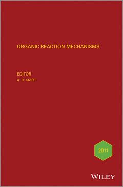 Couverture de l'ouvrage Organic Reaction Mechanisms 2011