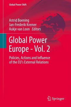 Cover of the book Global Power Europe - Vol. 2