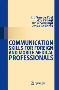 Cover of the book Communication Skills for Foreign and Mobile Medical Professionals