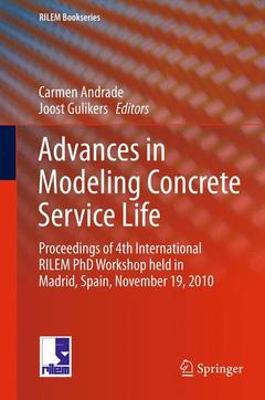 Cover of the book Advances in Modeling Concrete Service Life