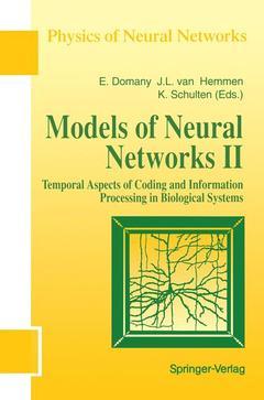 Couverture de l'ouvrage Models of Neural Networks