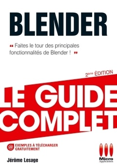 Couverture de l'ouvrage Blender. Le guide complet