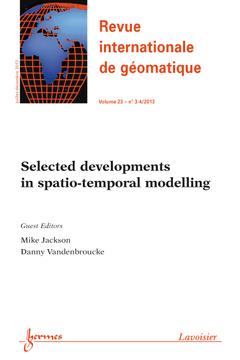 Couverture de l'ouvrage Revue internationale de géomatique Volume 23 N° 3-4/Juillet-Décembre 2013
