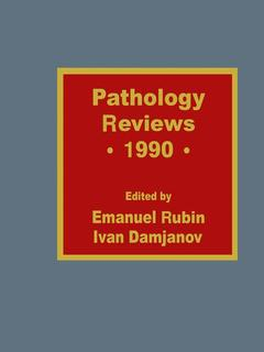 Cover of the book Pathology Reviews • 1990