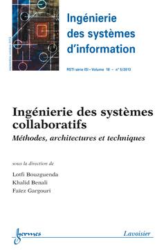 Couverture de l'ouvrage Ingénierie des systèmes d'information RSTI série ISI Volume 18 N° 5/Septembre-Octobre 2013