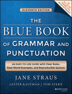 Cover of the book The Blue Book of Grammar and Punctuation
