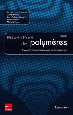Couverture de l'ouvrage Mise en forme des polymères