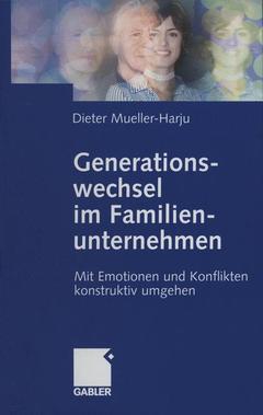 Couverture de l'ouvrage Generationswechsel im Familienunternehmen