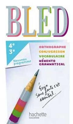 Bled Francais 4e 3e Livre Eleve Edition 2012 Berlion D
