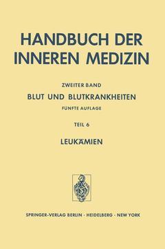 Couverture de l'ouvrage Leukämien (5th ed )