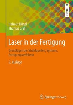Couverture de l'ouvrage Laser in der Fertigung