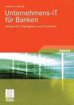 Couverture de l'ouvrage Unternehmens-IT für Banken