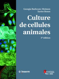 Couverture de l'ouvrage Culture de cellules animales
