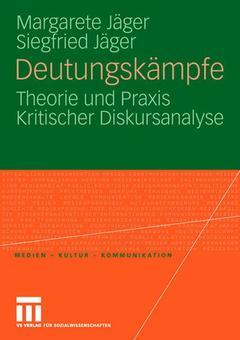 Couverture de l'ouvrage Deutungskämpfe