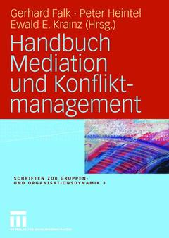 Couverture de l'ouvrage Handbuch Mediation und Konfliktmanagement