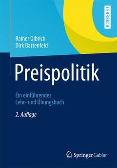 Couverture de l'ouvrage Preispolitik