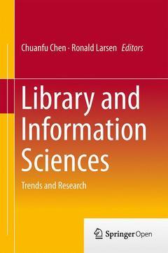 Couverture de l'ouvrage Library and Information Sciences