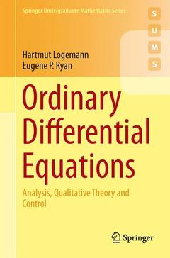 Couverture de l'ouvrage Ordinary Differential Equations