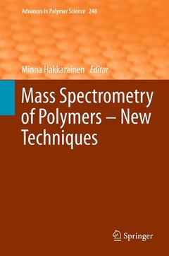 Cover of the book Mass spectrometry of polymers new techniques
