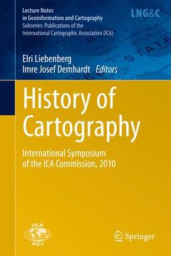 Couverture de l'ouvrage History of Cartography