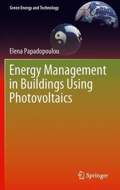 Couverture de l'ouvrage Energy Management in Buildings Using Photovoltaics