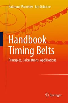 Cover of the book Handbook Timing Belts