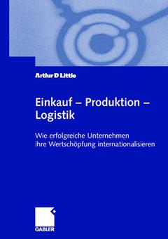 Couverture de l'ouvrage Einkauf — Produktion — Logistik