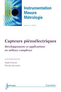 Couverture de l'ouvrage Instrumentation Mesure Métrologie Volume 13 N° 3-4/Juillet-Décembre 2013