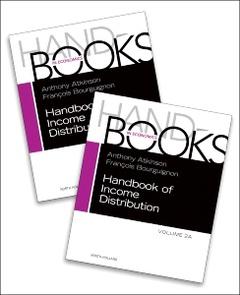 Couverture de l'ouvrage Handbook of Income Distribution. Vol 2B