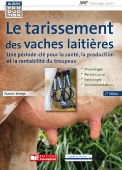 Couverture de l'ouvrage Le tarissement des vaches laitières