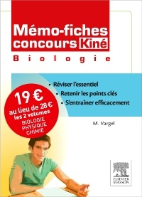 Memo Fiches Concours Kine Pack 2 Volumes Biologie Physique Chimie Lopez Rios Christine Vargel Muriel Thibaud Vincent