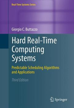 Couverture de l'ouvrage Hard real-time computing systems