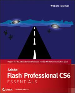 Couverture de l'ouvrage Adobe Flash Professional CS6 Essentials