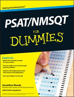 Couverture de l'ouvrage PSAT/NMSQT For Dummies