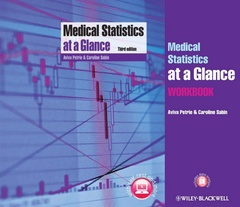 Cover of the book Medical Statistics at a Glance Text and Workbook
