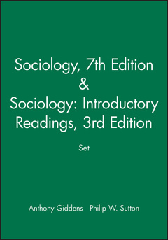 Couverture de l'ouvrage Sociology, 7th Edition / Sociology: Introductory Readings, 3rd Edition bundle
