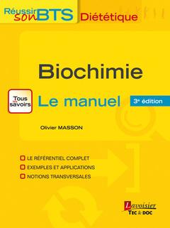 Couverture de l'ouvrage Biochimie