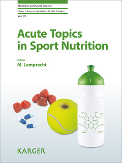 Couverture de l'ouvrage Acute Topics in Sport Nutrition