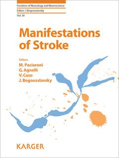 Couverture de l'ouvrage Manifestations of Stroke