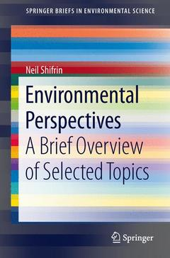 Cover of the book Environmental Perspectives
