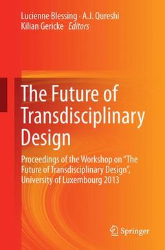 Cover of the book The Future of Transdisciplinary Design