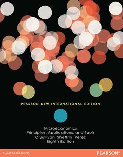 Couverture de l'ouvrage Microeconomics (Pearson 8th International Ed.)