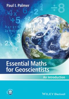 Couverture de l'ouvrage Essential Maths for Geoscientists
