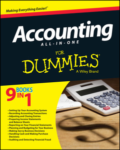 Couverture de l'ouvrage Accounting All-in-One For Dummies