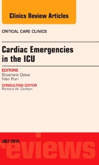 Cover of the book Cardiac Emergencies in the ICU , An Issue of Critical Care Clinics