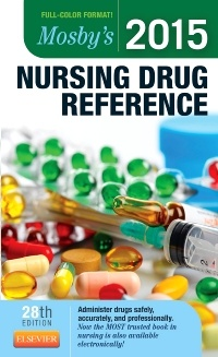 Cover of the book Mosby's 2015 Nursing Drug Reference